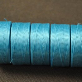 Thread - Size D C-LON Thread - Turquoise Blue (Spool)