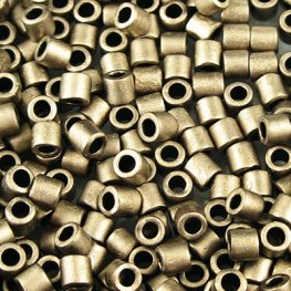 Delicas - 8/0 Japanese Cylinders - Metallic Gold Matte (50 g)