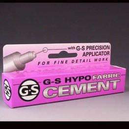 Tools - Adhesive - 9ml G-S Hypo Cement - Fabric