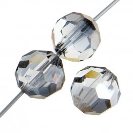 Preciosa Machine Cut Crystal - 6mm Faceted Round - Valentinite (36)