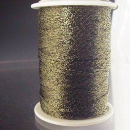 Stringing - 1mm Wire Lace Ribbon - Olive (Yard)