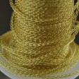 Silver Silk - Knitted Wire - 3-Needle Round - Gold (1 foot)