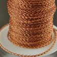 Silver Silk - Knitted Wire - 3-Needle Round - Copper (1 foot)