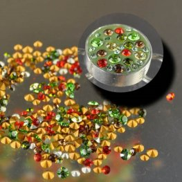 CrystalFX - Swarovski Chaton Mix - Spice it Up (1 gram)