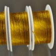 Stringing - 1mm Wire Lace Ribbon - Marigold (Spool)