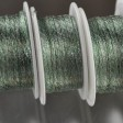 Stringing - 1mm Wire Lace Ribbon - Seafoam (Spool)
