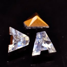 Swarovski Fancy Stone - Crystal Letters (Article 4889) - A