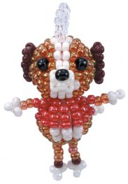 Kit - Mascot Fan Miyuki Beading Kit - Doggy Dog