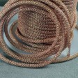 Silver Silk - Knitted Wire - Capture Pearlesque - Romantic Rose (1 foot)