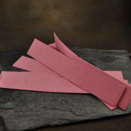 Beading Foundation - UltraSuede Cuff Strip - Rose Pink
