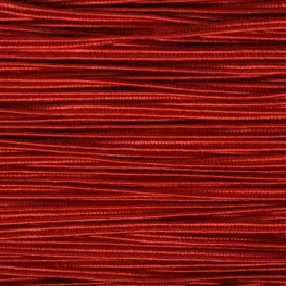 Braid - 3mm Rayon Soutache - Ruby Red (1 meter)