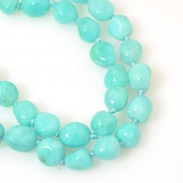 Stone Beads - 6x8mm Nuggets - Top Quality Amazonite (strand)