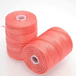 Thread - C-Lon Bead Cord - Chinese Coral (Spool)