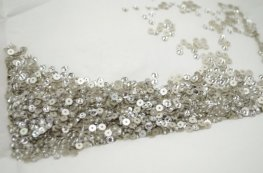 Swarovski - Sew-on Stone - 3mm Flat Round (3128) - Crystal (Foiled) (72)