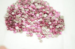 Swarovski - Sew-on Stone - 4mm Flat Round (3128) - Rose (72)