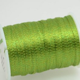 Stringing - 3mm Wire Lace Ribbon - Grass (Yard)