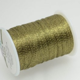Stringing - 3mm Wire Lace Ribbon - Olive (Yard)