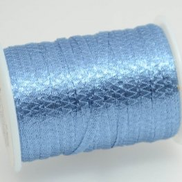 Stringing - 3mm Wire Lace Ribbon - Azure (Yard)