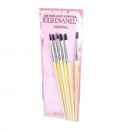 Tools - Angled Brushes - (Pack of 6)