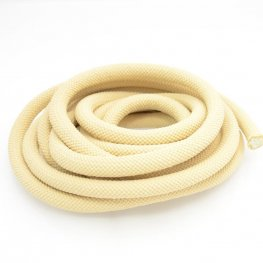 Cord - 10mm Round Nylon Cord - Antique Ivory (2 feet)