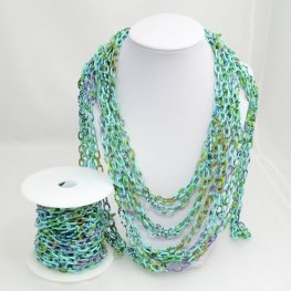 Chain - Oval Links - Totally Turquoise (foot)