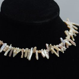 Freshwater Pearls - 14-17mm Stick Pearl - Ivory (strand)
