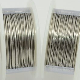 ParaWire - 22ga Round Wire - Brushed Silver (Spool)