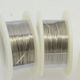 ParaWire - 28ga Round Wire - Brushed Silver (Spool)