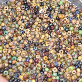 Czech - 11/0 Seed beads - Ancient Tapestry (20 grams)