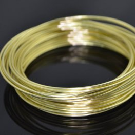 ParaWire - 16ga Round Wire - Champagne Gold (Coil)
