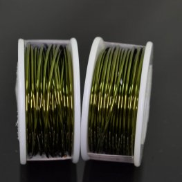 ParaWire - 18ga Round Wire - Olive (Spool)