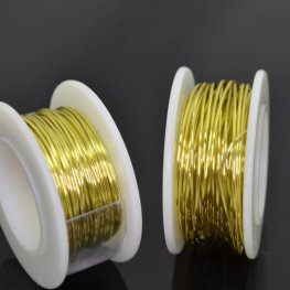 ParaWire - 20ga Round Wire - Champagne Gold (Spool)