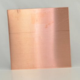 Metal Sheet - 24ga 6 inch Square Blank - Copper