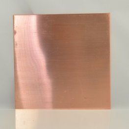 Metal Sheet - 22ga 6 inch Square Blank - Copper
