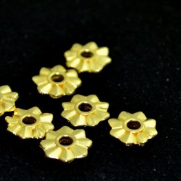 Riveting Supplies - 8 Cardinal Points - Rivetable - Bright Gold
