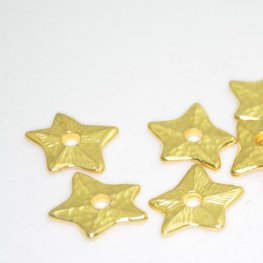 Riveting Supplies - Starry Starfish - Rivetable - Bright Gold
