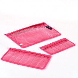 Carry Bags by Yazzii - for BeadFX - extra pocket pack - My-my-Magenta