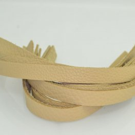 Leather - .5x10in Leather Strip - Butter