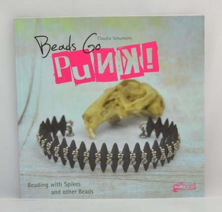 Book - Beads Go Punk - by Claudia Schumann