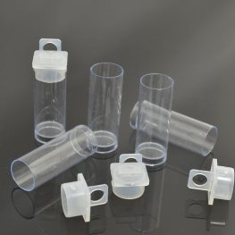 Packaging - Tiny Hanging Tube - Clear (12)