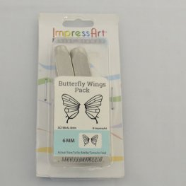 ImpressArt Stamps - 6mm Design Stamp/Punch - Butterfly Wings