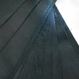 Leather - 2x10in Leather Strip - Evergreen