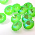 Swarovski Rhinestones - 12mm Rivoli Cut (1122) - Ultra Lime