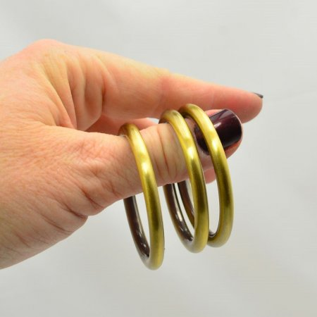 Ring - 50mm - Brushed Antique Gold