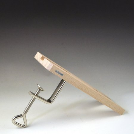 Tools - Flat Wood Bench Pin with Clamp -