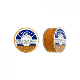 Thread - Toho One-G Beading Thread - Orange (Spool)