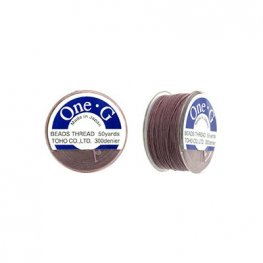 Thread - Toho One-G Beading Thread - Mauve (Spool)