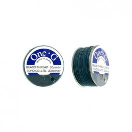 Thread - Toho One-G Beading Thread - Deep Green (Spool)