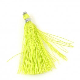 Components - Tassels - Acid Green