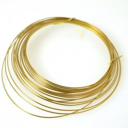 ParaWire - 18ga Half Round Wire - Faux Gold (Coil)